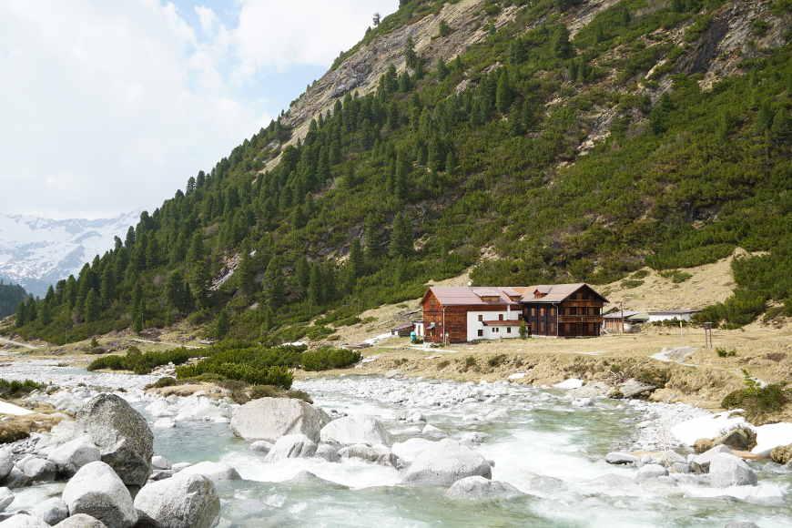 Alpenrosenhütte im Zemmgrund Zillertal
