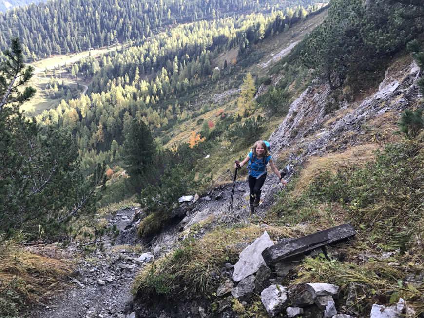Aufstieg Gerlossteinwand Zillertal