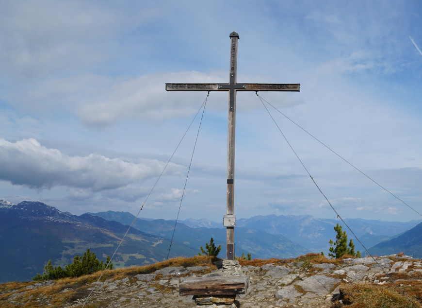 Gipfelkeuz der Gerlossteinwand