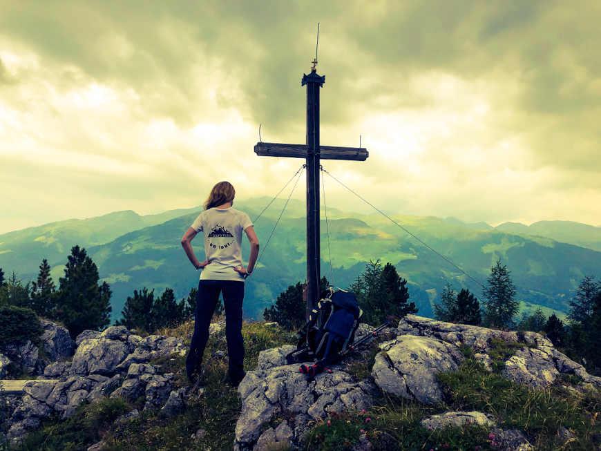 Gipfelkreuz des Roller Zillertal