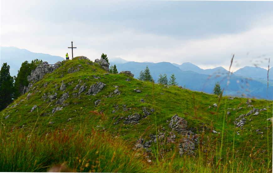 Blick auf Roller aus Richtung Schafkogel Zillertal Gerlos