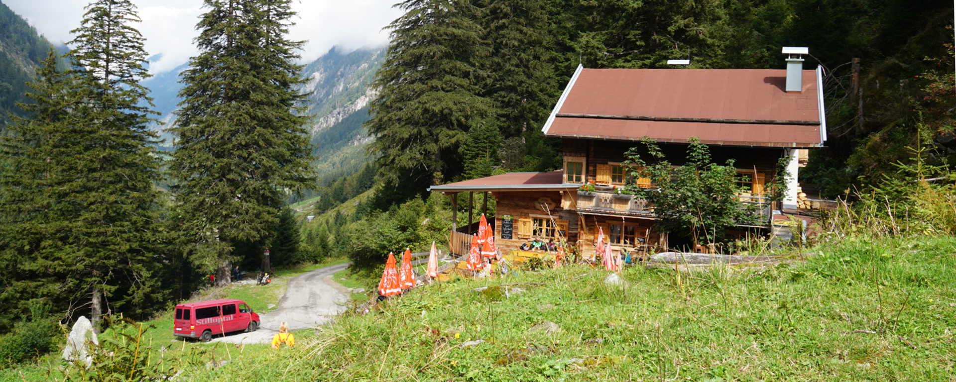 Grüne-Wand-Hütte Zillertal