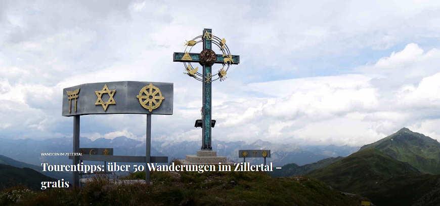 Wanderliste Zillertal