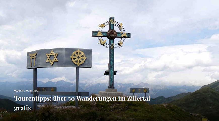Beitragsbild Über 50 Wanderungen im Zillertal