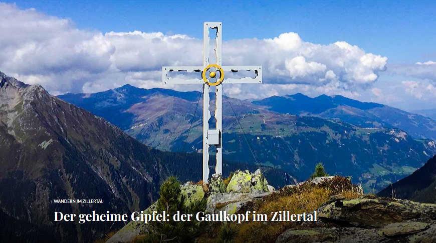 Beitragsbild Der geheime Gipfel: der Gaulkopf im Zillertal