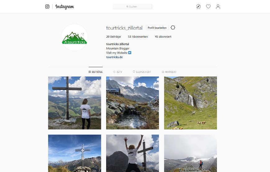 tourtricks zillertal instagram seite