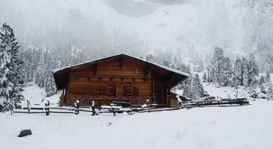 Zillertal Grawandalm Winterwandern