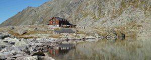 Zittauer Hütte am unteren Wildgerlossee