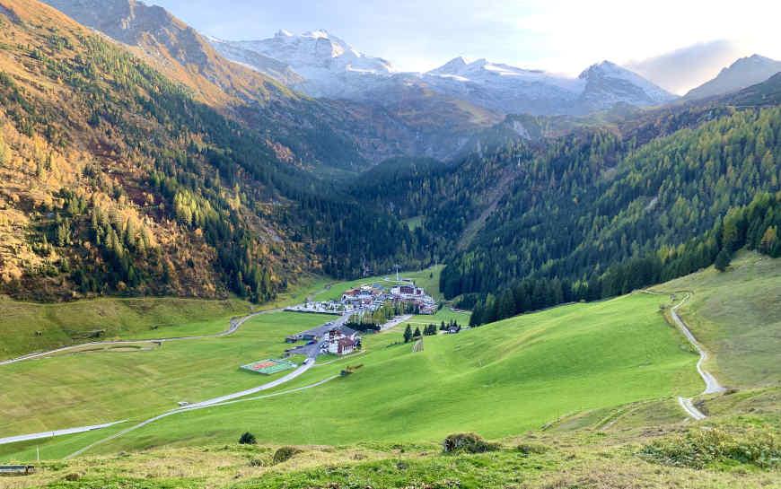 Bichlalm Gletscherblick Hintertux Zillertal