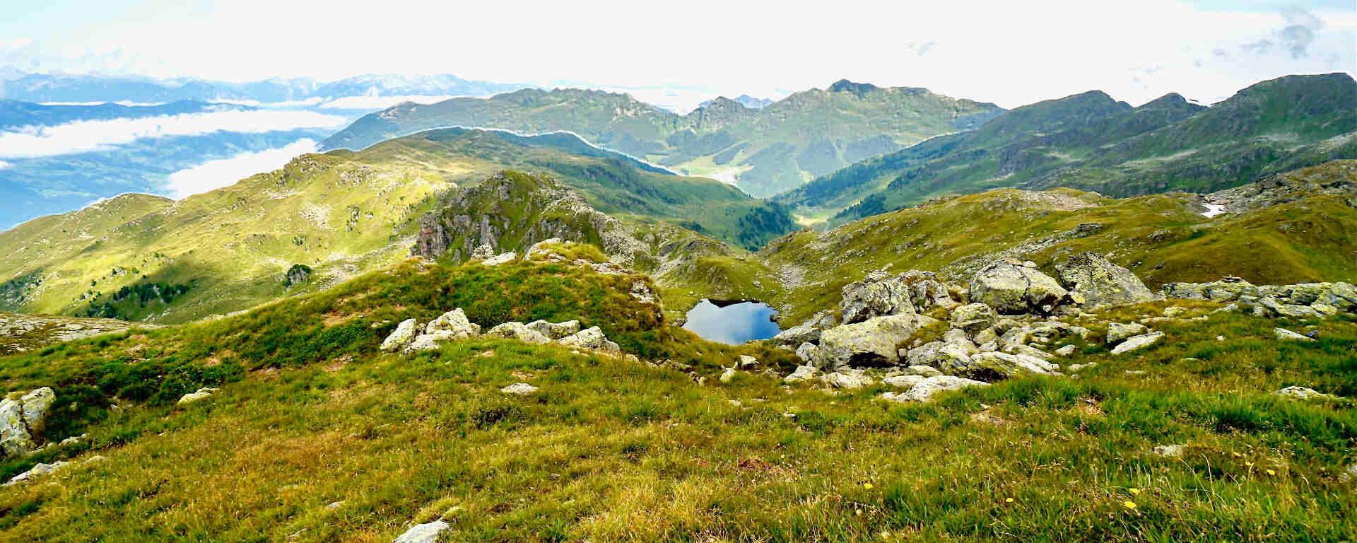 Ausblick vom Rifflerkogel im Zillertal
